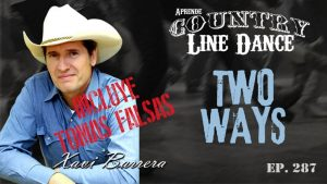 TWO WAYS Country Line Dance - Carátula vídeo tutorial