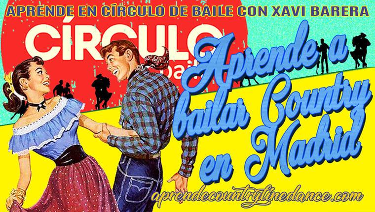 Cursos de Country Line Dance en Madrid, en la escuela Círculo de Baile
